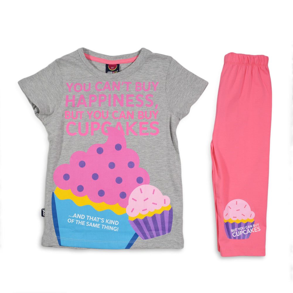 One2twelve Cupcake Pajama Gray