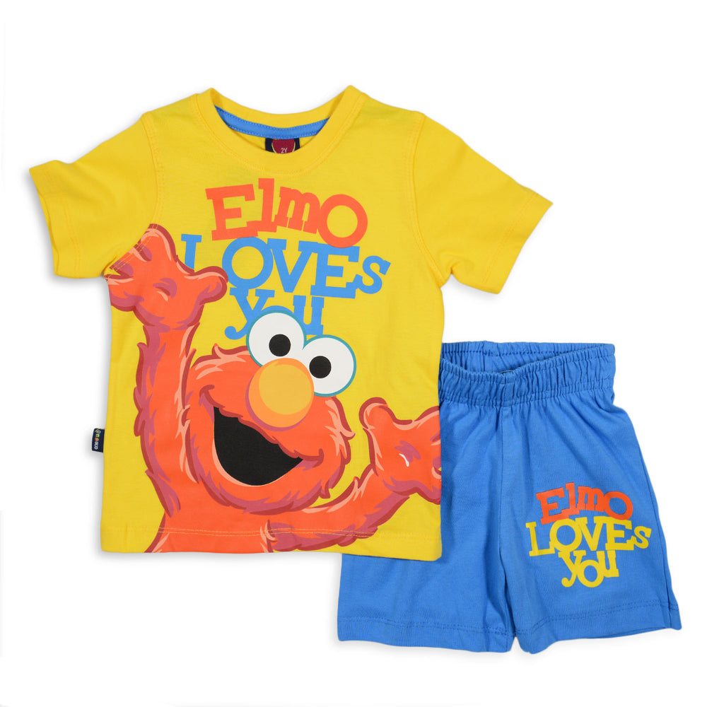 One2twelve Elmo Pajama Yellow