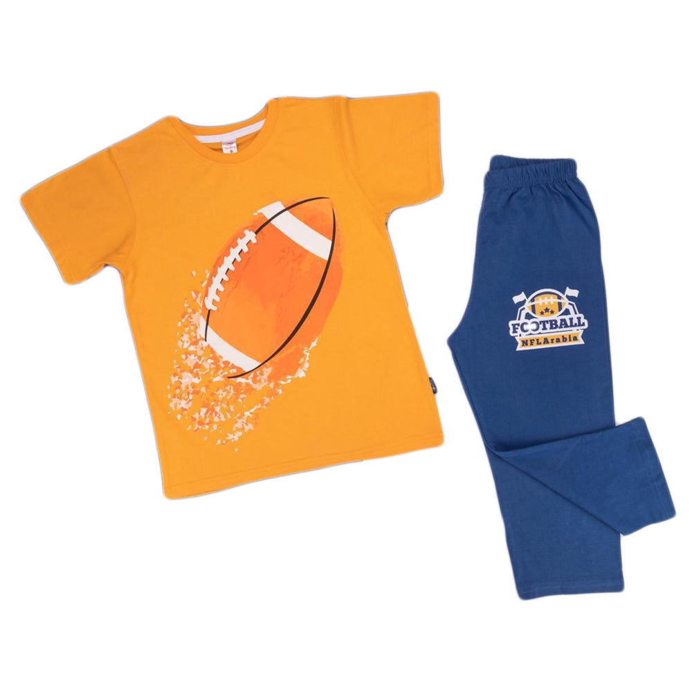 Sedra Football Pajama Orange
