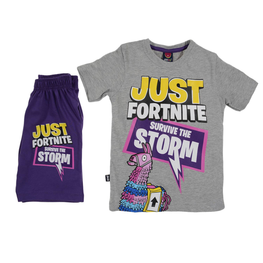 One2twelve Storm Pajama Gray