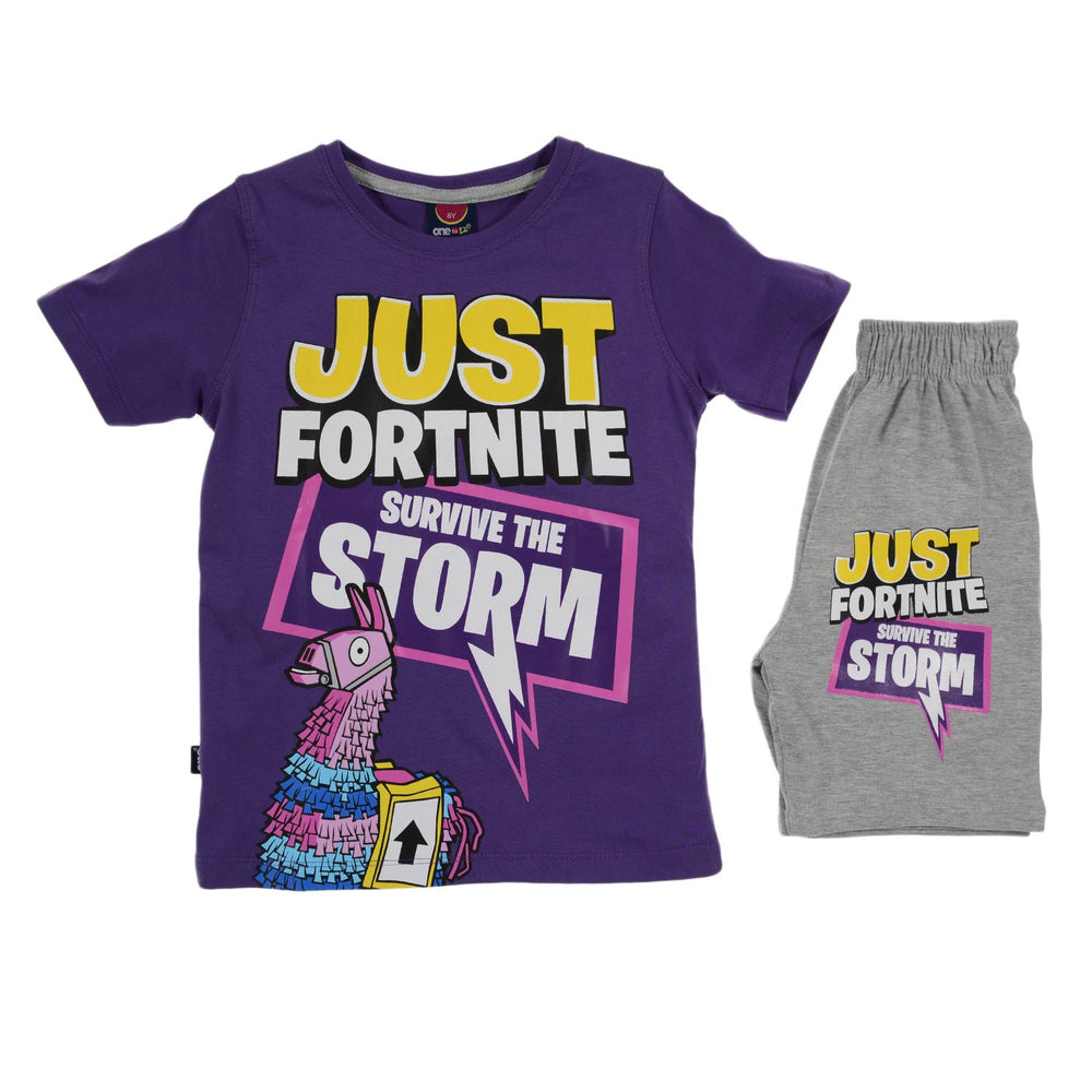 One2twelve Fortnite Pajama Purple