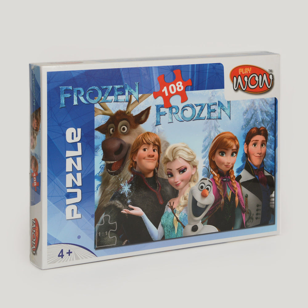 Wow Play Frozen Puzzle 108 Piece