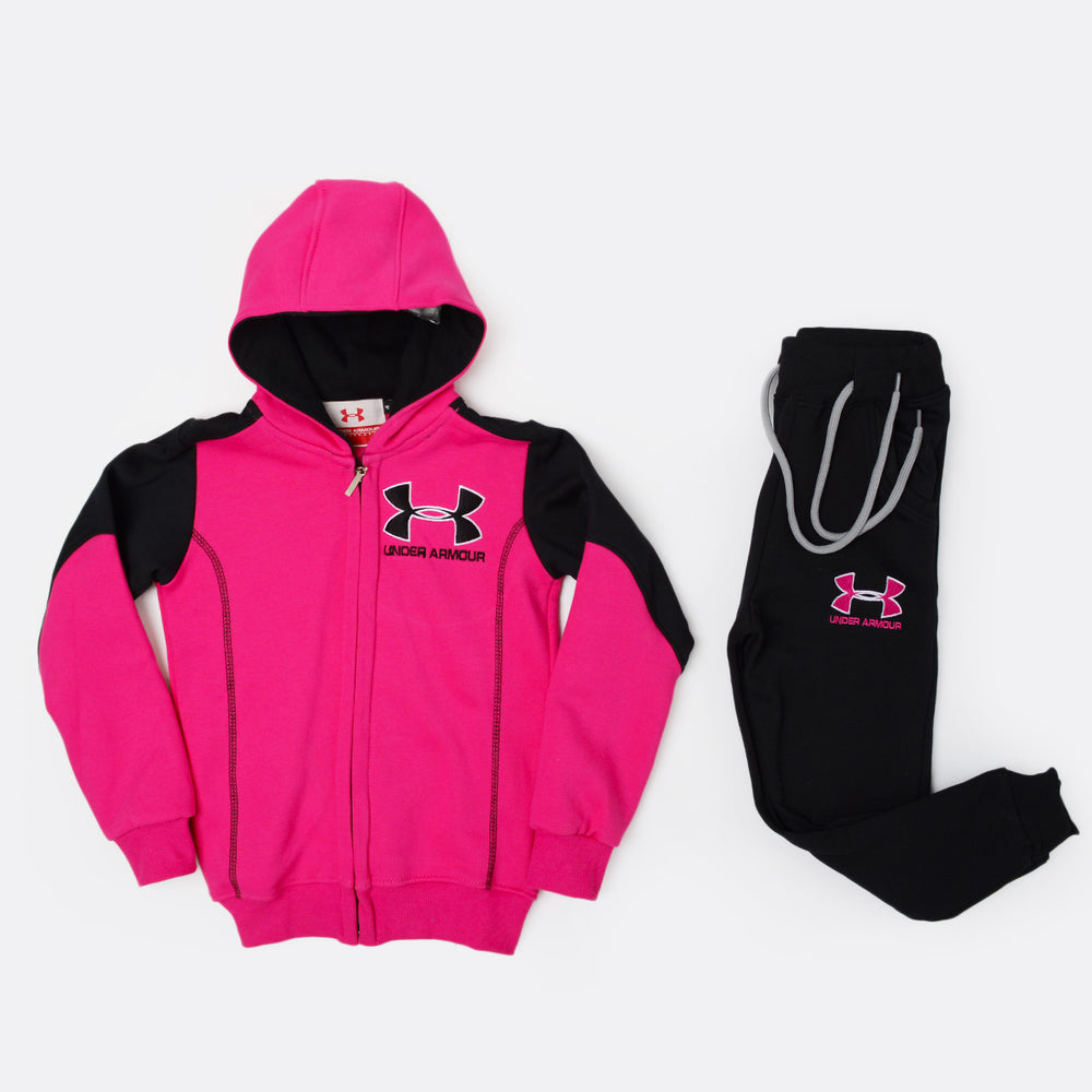Under Armour Training Suit Fushia