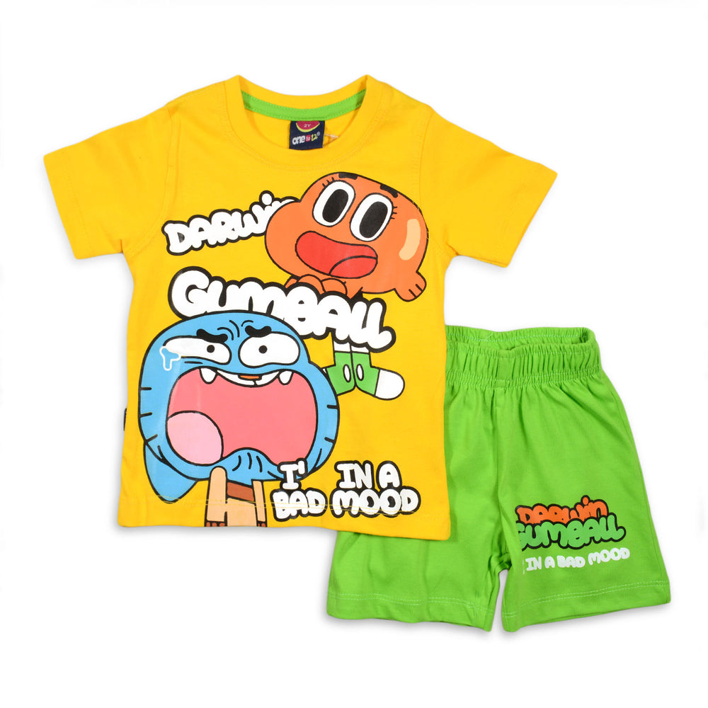 One2twelve Gumball Pajama Yellow