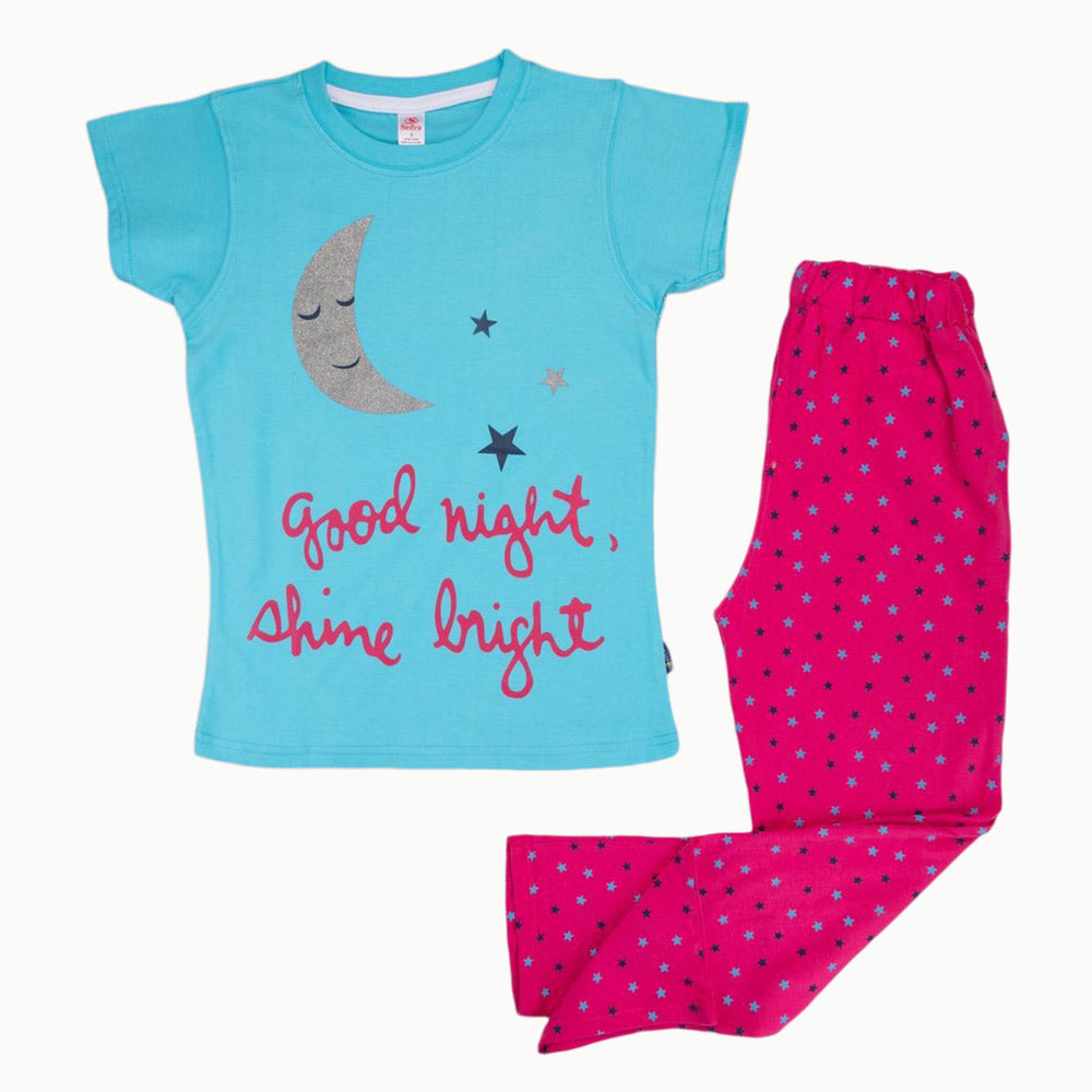 Sedra Good Night Pajama  Baby Blue