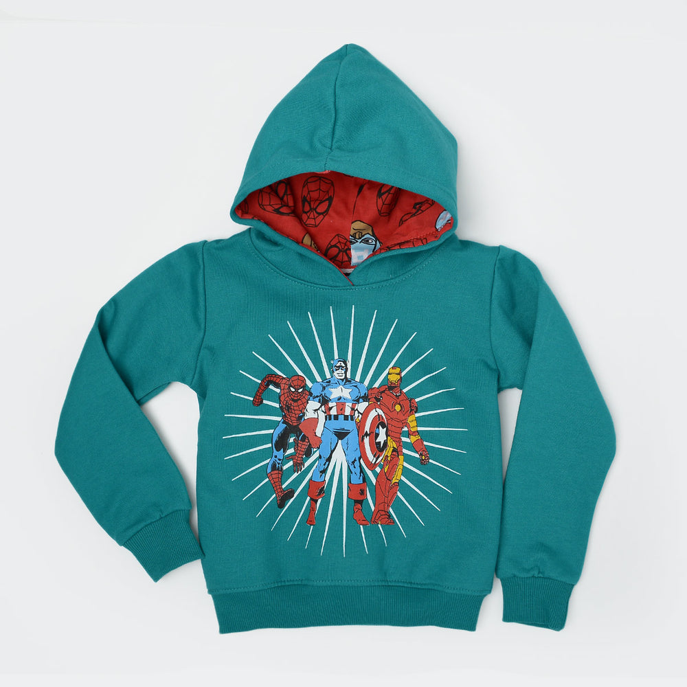 Captain America Sweatshirt Green