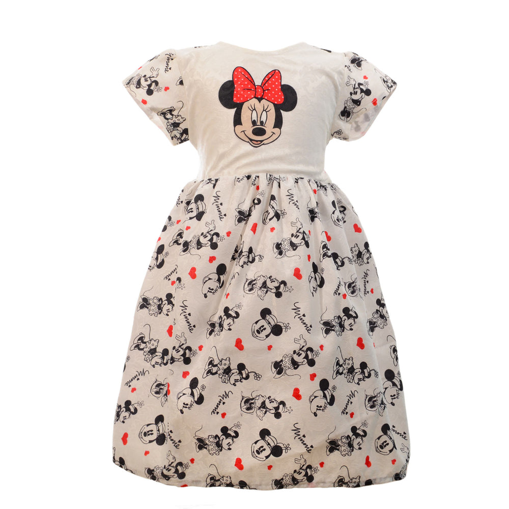 Marz Minnie Mouse Dress White