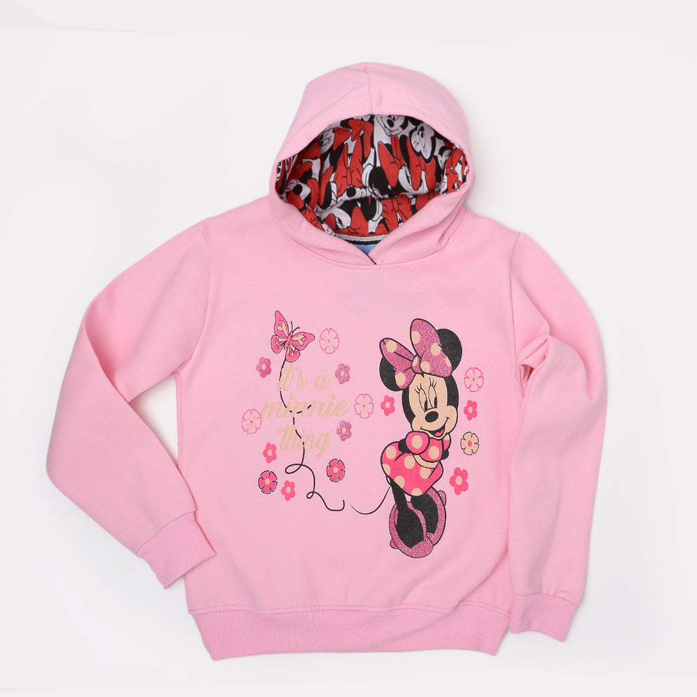 Minnie Mouse Sweatshirt Pink