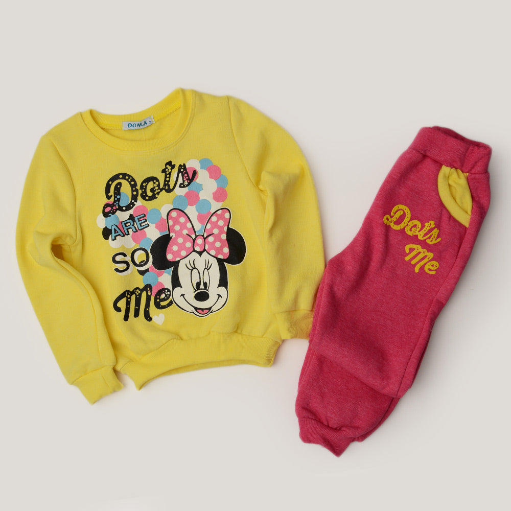 Domatex Minnie Mouse Pajama Yellow