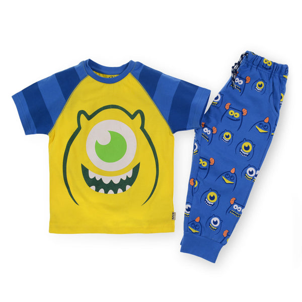 Katy One Monsters Eye Pajama Yellow
