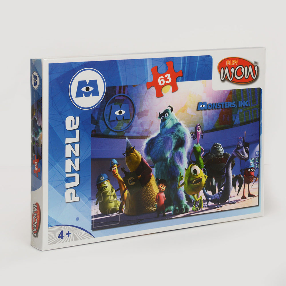 Wow Play Monsters Puzzle 63 Piece