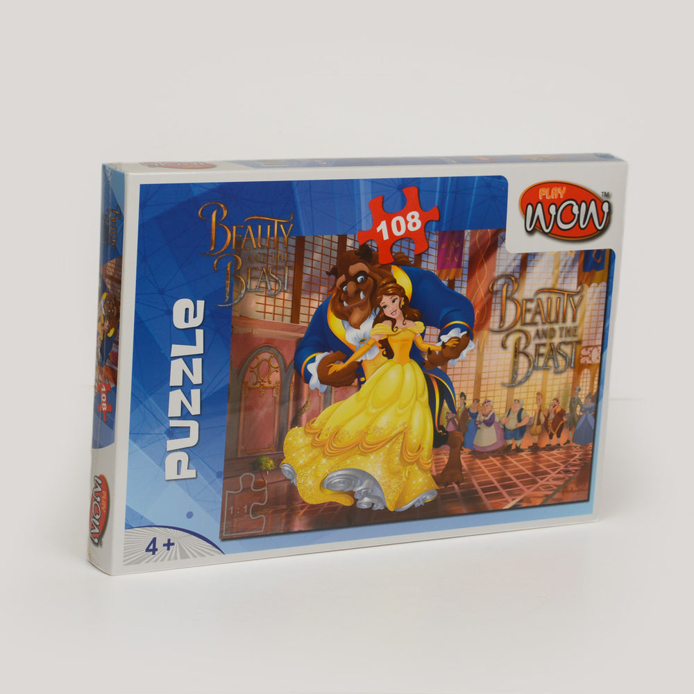 Wow Play Beauty And The Beast Puzzle 108 Piece