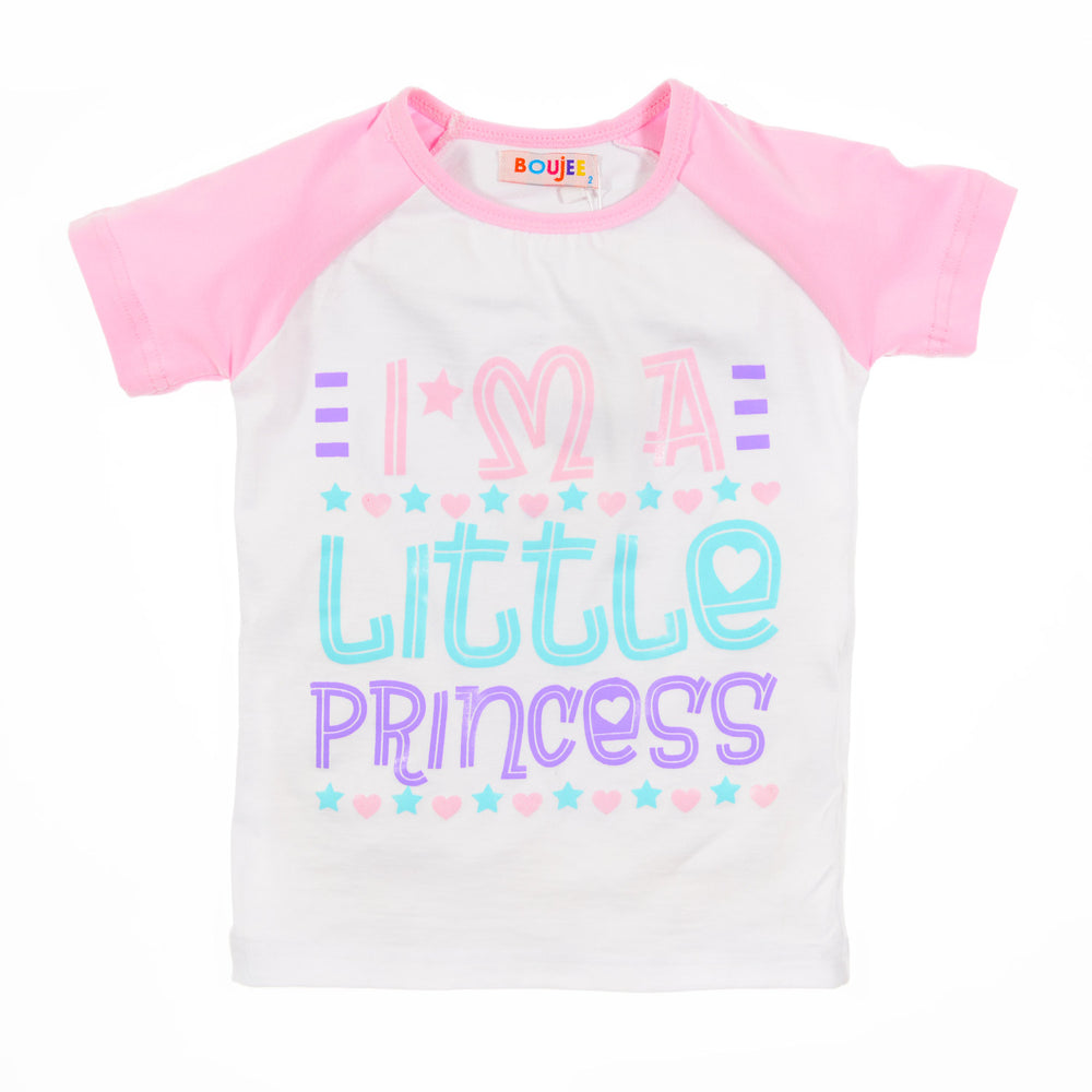 Boujee Little Princess T-Shirt Pink