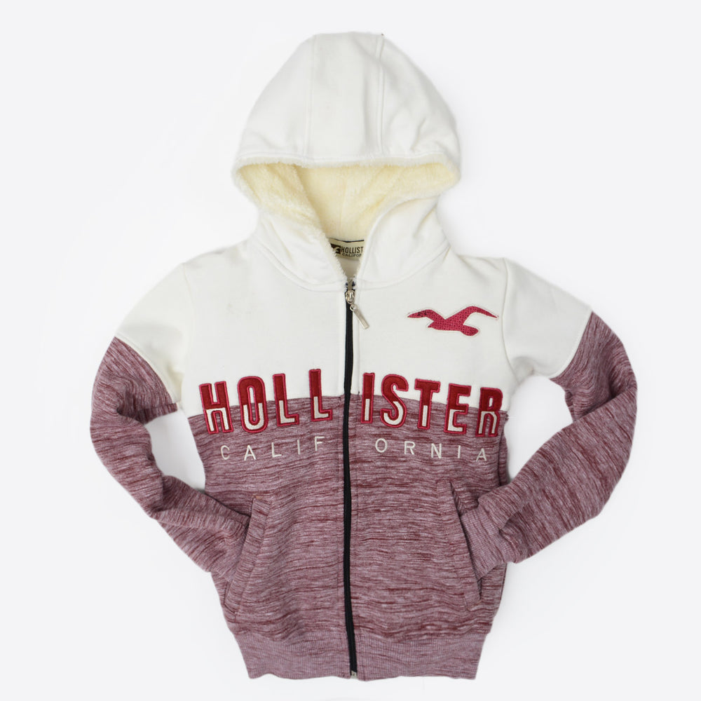 Hollister Sweatshirt Dark Red