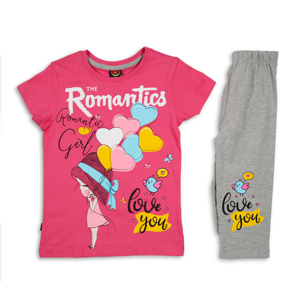 One2twelve The Romantics Pajama Fuchsia