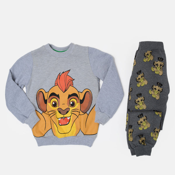 Kangaroo Simba Gray Winter Pajama