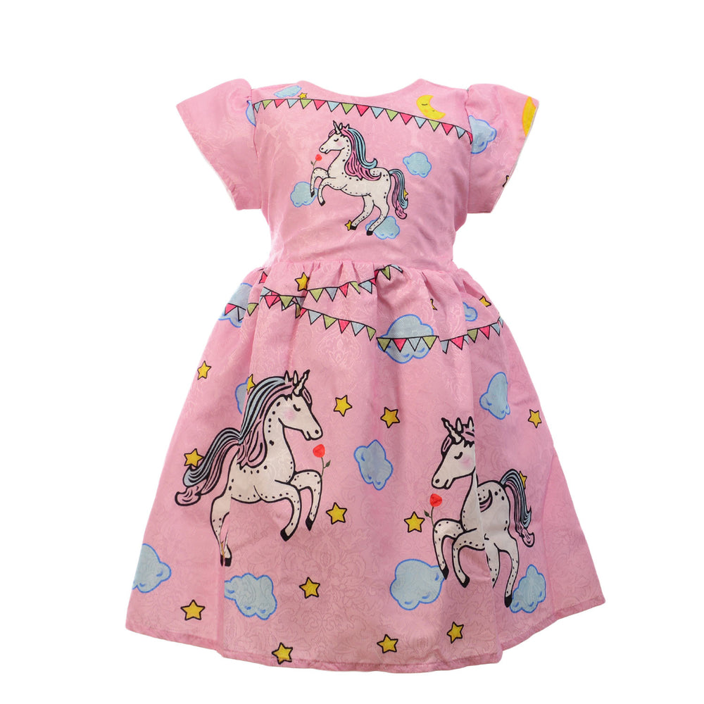Marz Unicorn Dress Pink