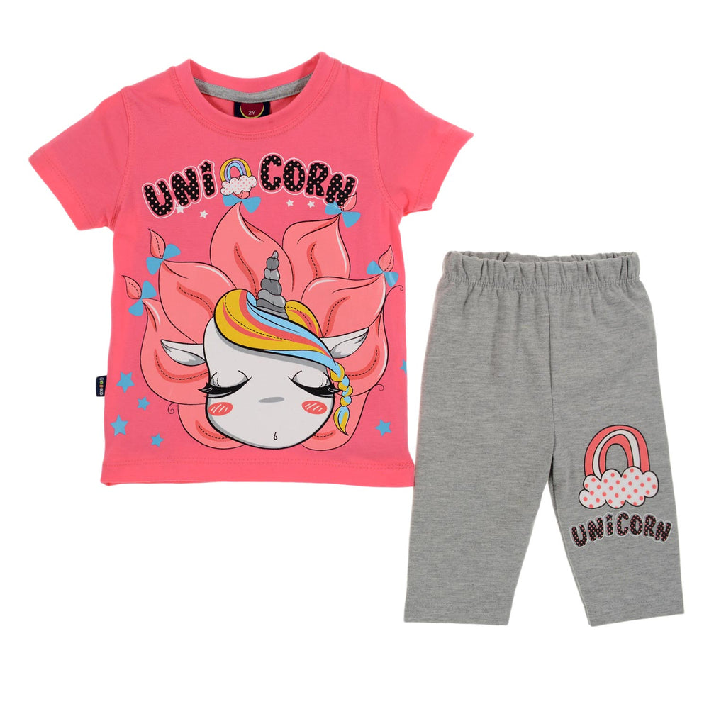 One2twelve Unicorn Pajama Pink