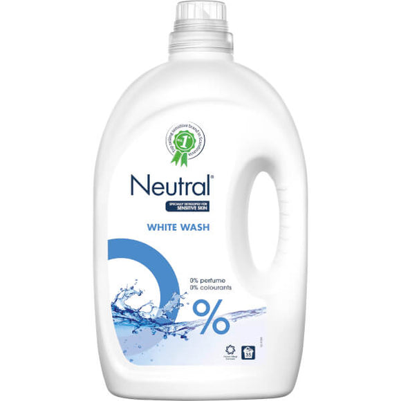 White Liquid Laundry Detergent - 35 wash