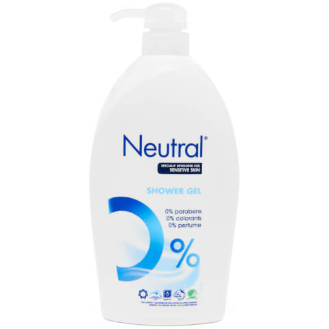Neutral 0% Shower Gel - 1L