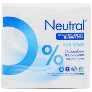 Neutral 0% Soap Bar - 2 x 100g