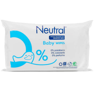 Neutral 0% Baby Wipes - 63 Wipes