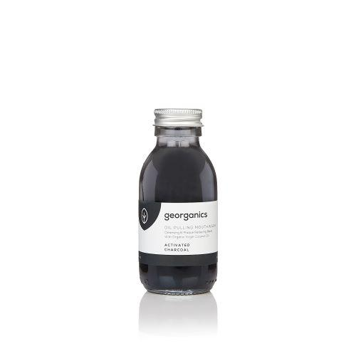 Georganics - Oil Pulling Mouthwash - Activated Charcoal
