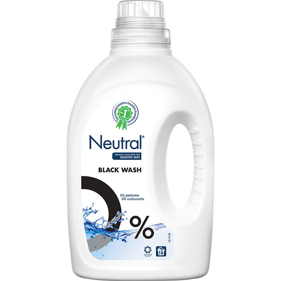 Black Liquid Laundry Detergent - 18 wash