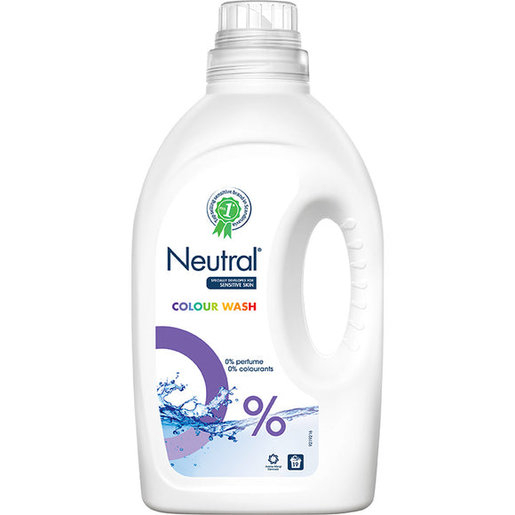 Neutral 0% Colour Liquid Laundry Detergent - 1425ml