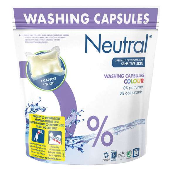Colour Washing Capsules - 22 wash