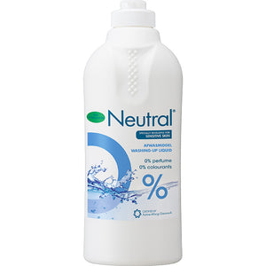 Neutral 0% Washing Up Liquid - 500ml