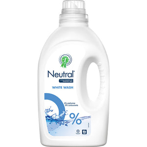 White Liquid Laundry Detergent - 19 wash