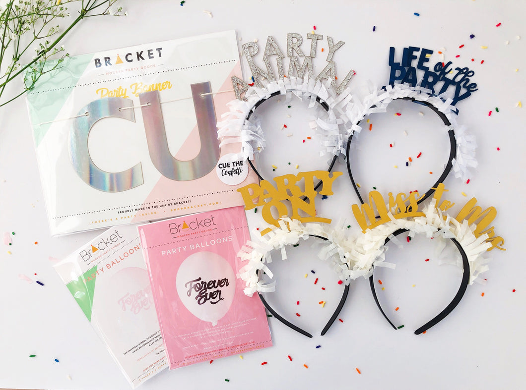 Basic Bachelorette Party Box - Party Up Top Set