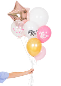 """Forever Ever"" Bridal Balloon Bundle"