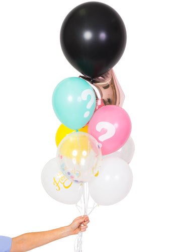 DIY Gender Reveal Balloon Bundle