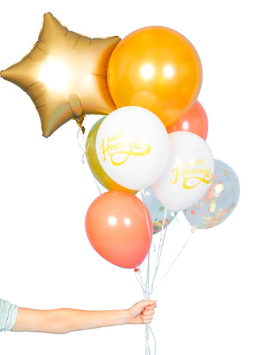 Hip Hip Hooray Ballon Bundle