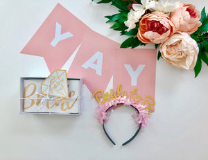 Bride & DIY Banner Kit
