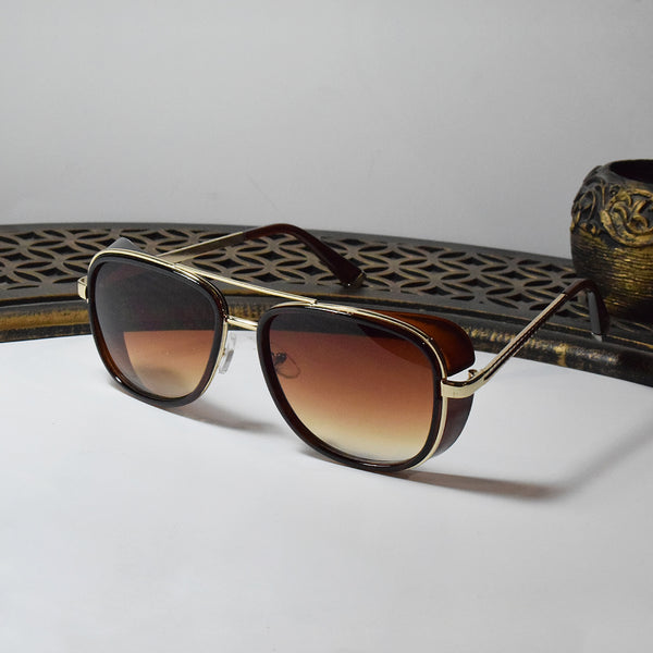 Business Classic Brown Sunglasses
