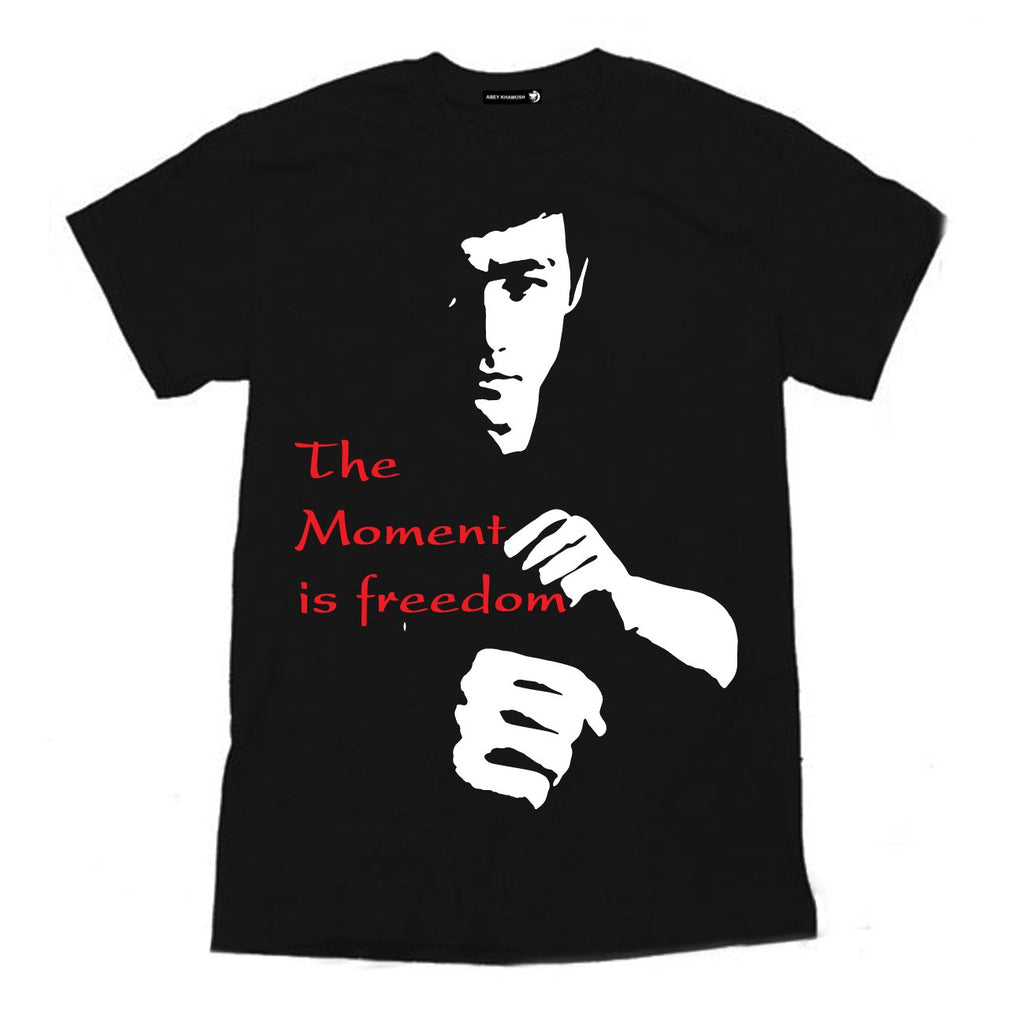 The Moment is Freedom Cotton T-Shirt