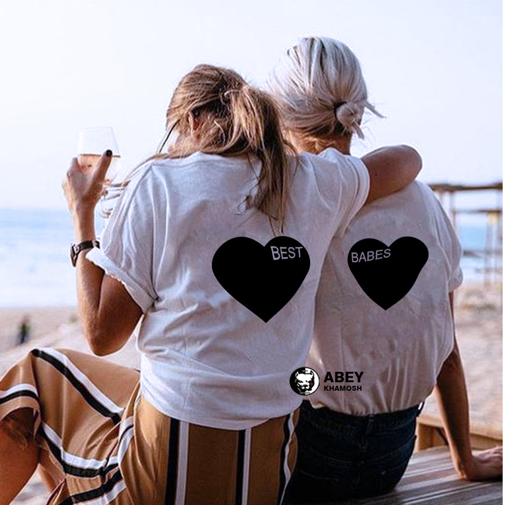 Best Babes - Best Friend T Shirts - BFF T Shirt