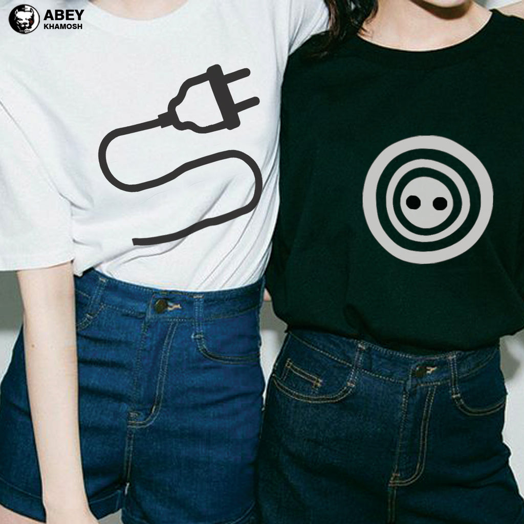 Plug & Socket -  Best Friend T Shirts