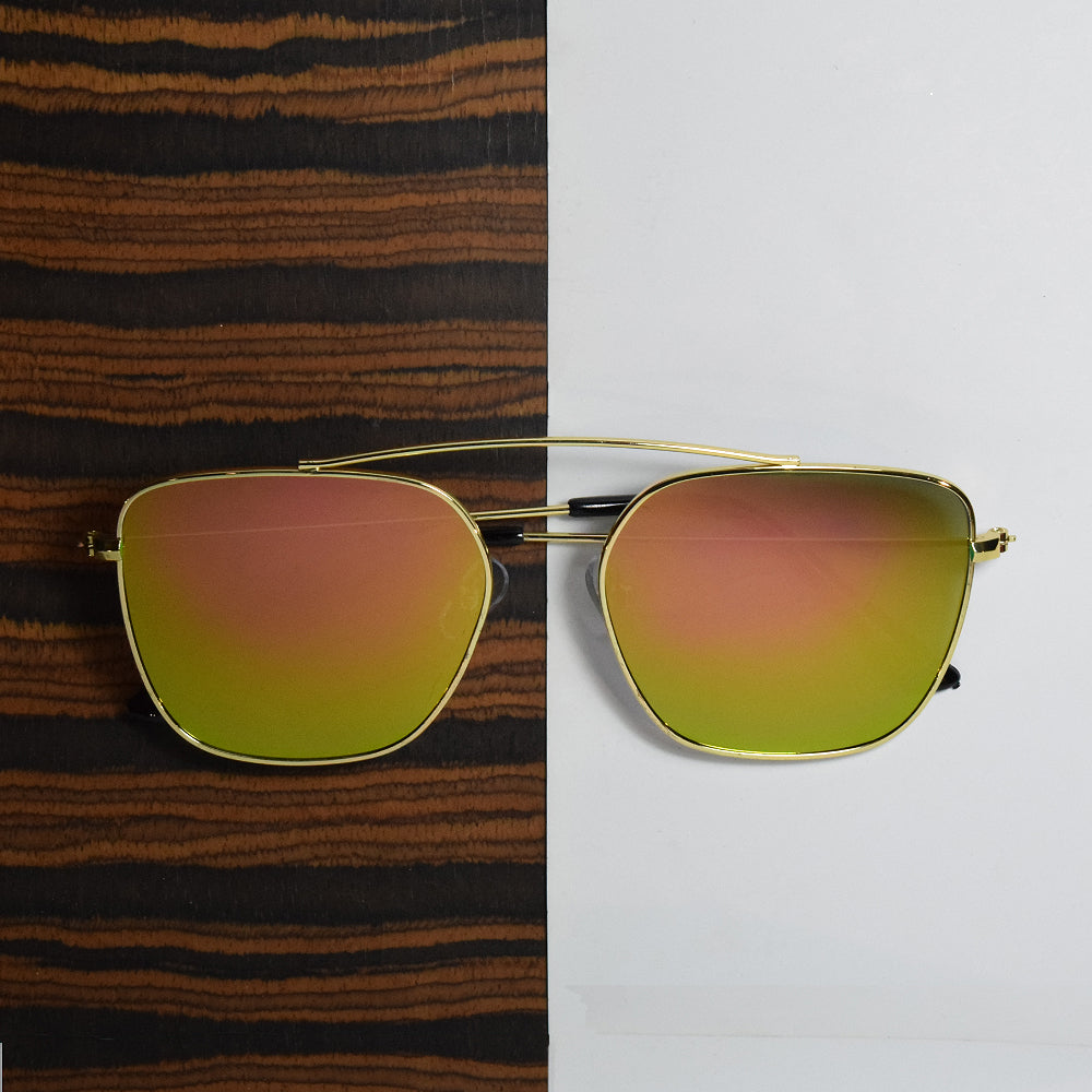 Midaura Multi-Colored Top Baar Sunglasses
