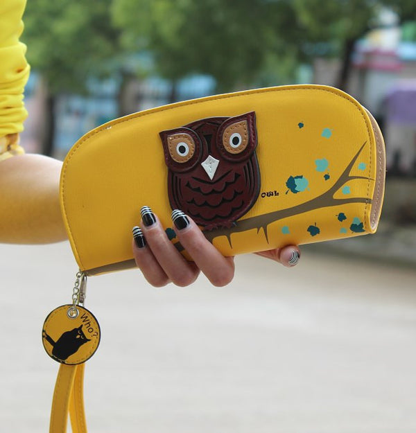 3D Cute Owl Clutch