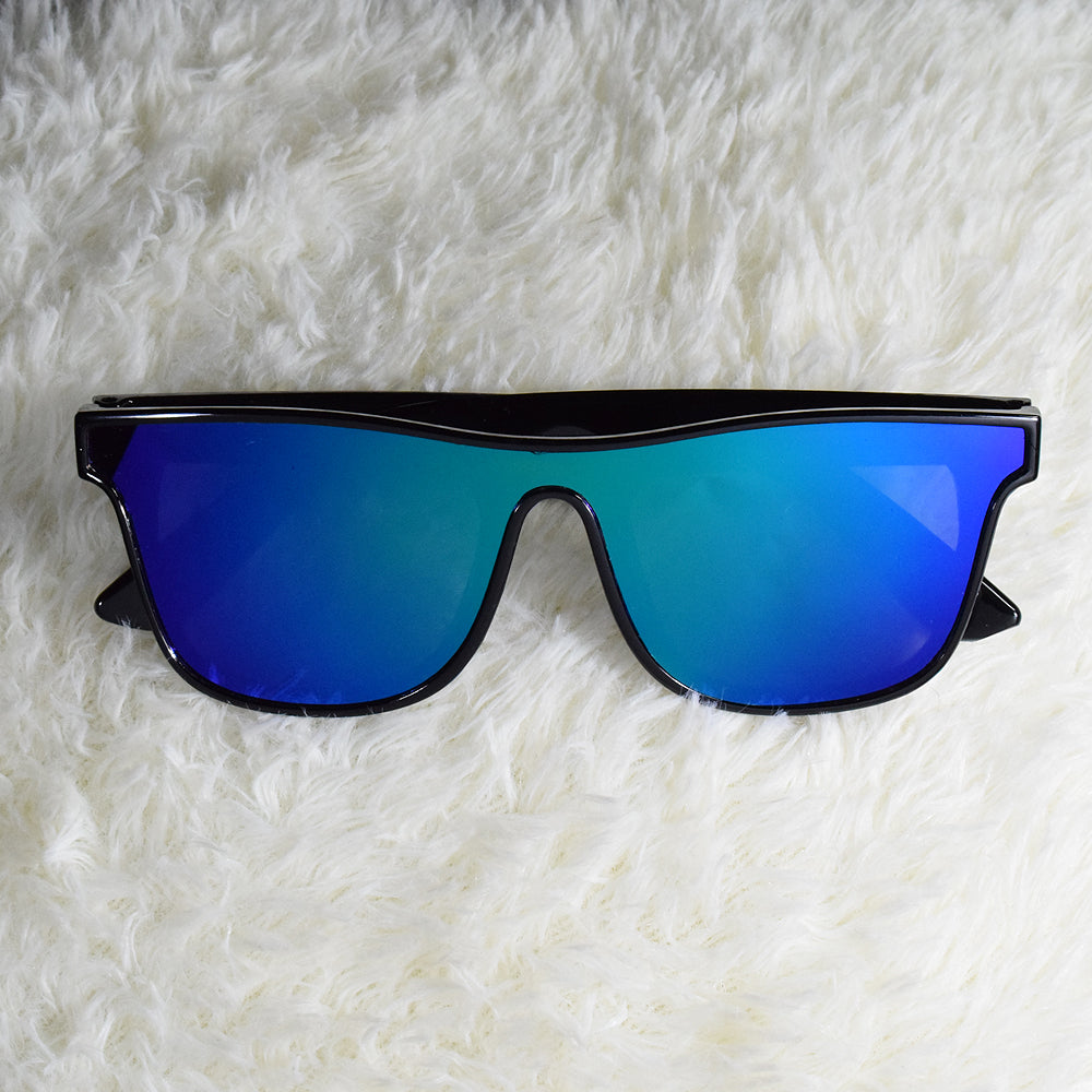 Jade Unibody Purple and Blue Sunglasses