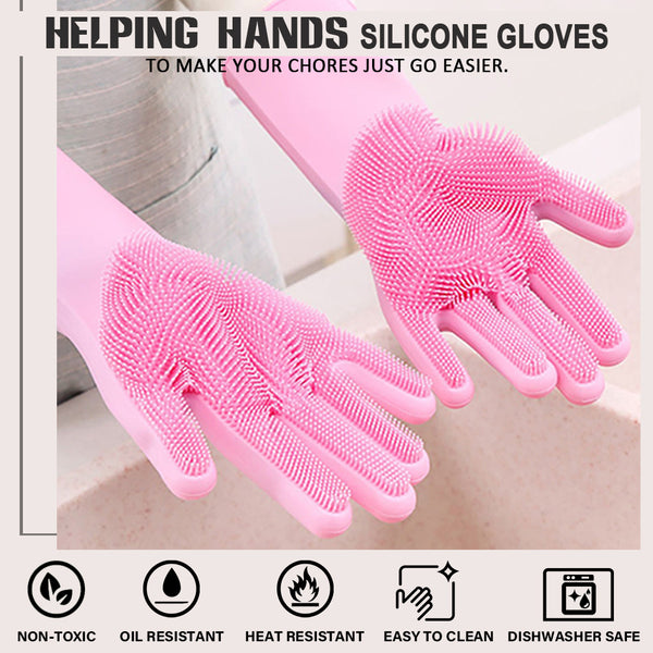 Helping Hand Multi-Purpose Silicone Gloves