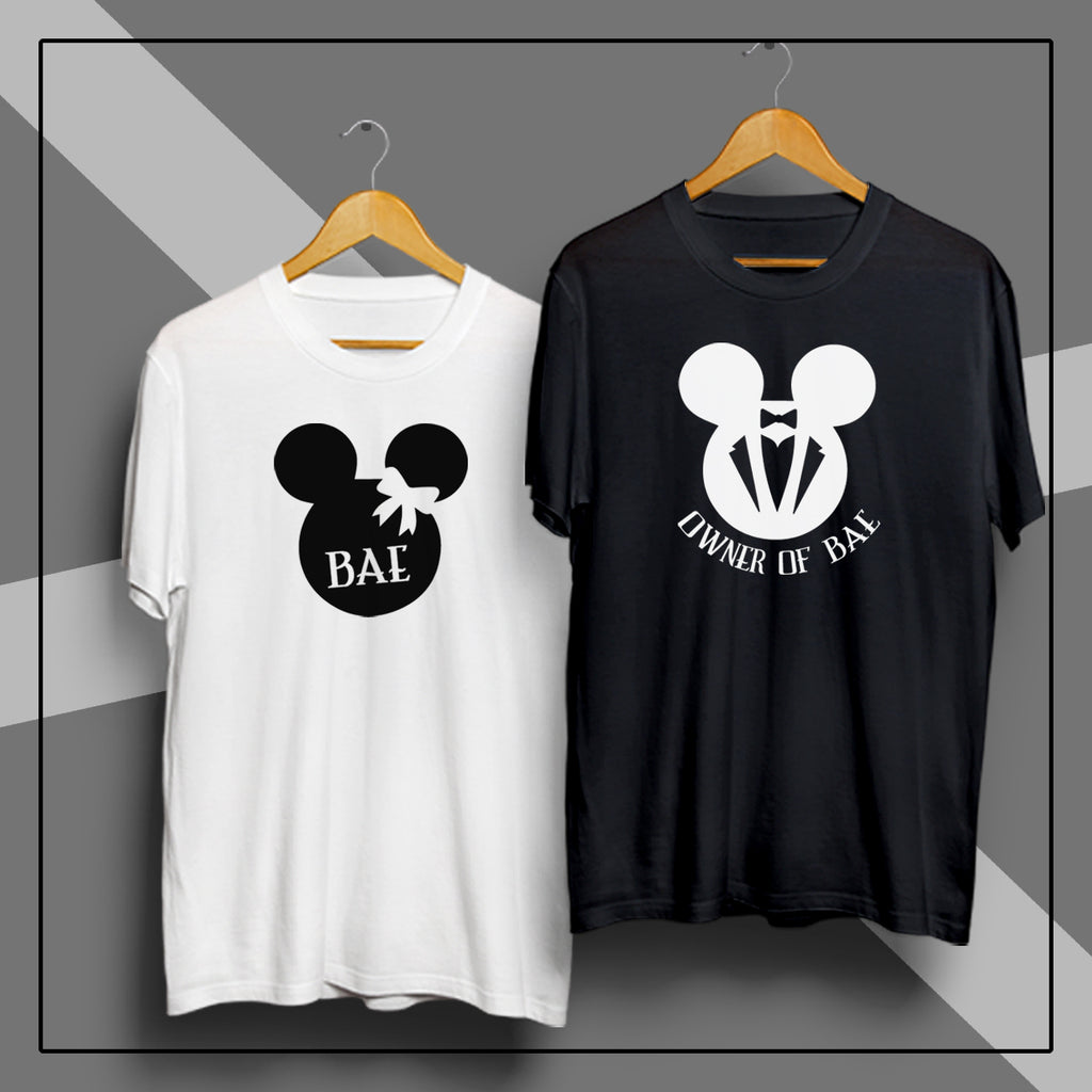 Bae & Owner Of Bae - Couple T Shirt