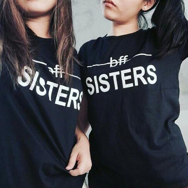 BFF Sisters - Best Friend T Shirts - BFF T Shirt