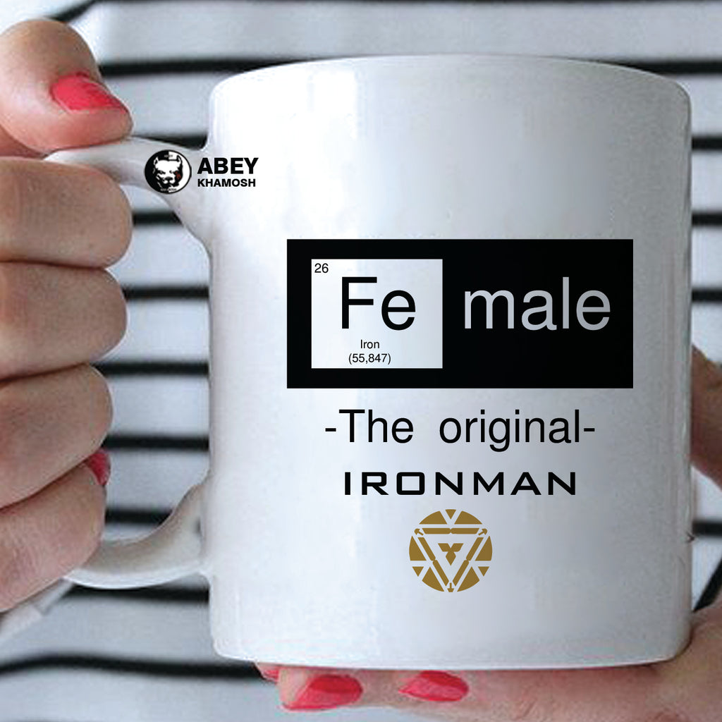 Female Ironman  Mug