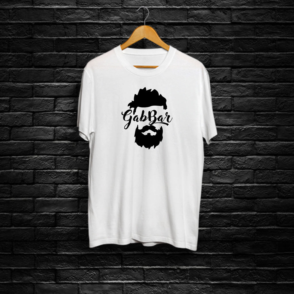 Gabbar - Half Sleeve Cotton T-Shirt