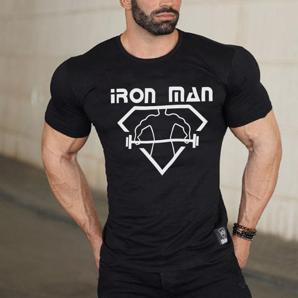 Iron Man - Half Sleeve Cotton T-Shirt